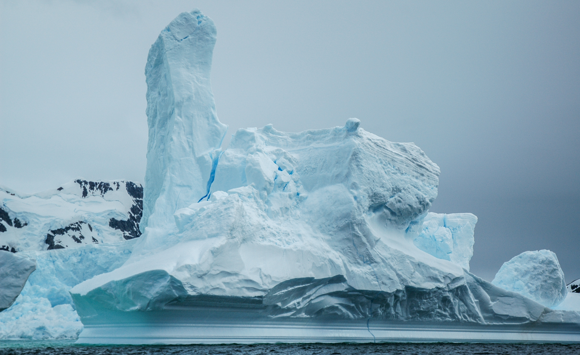Iceberg near Pleneau Island, Antarctic Peninsula