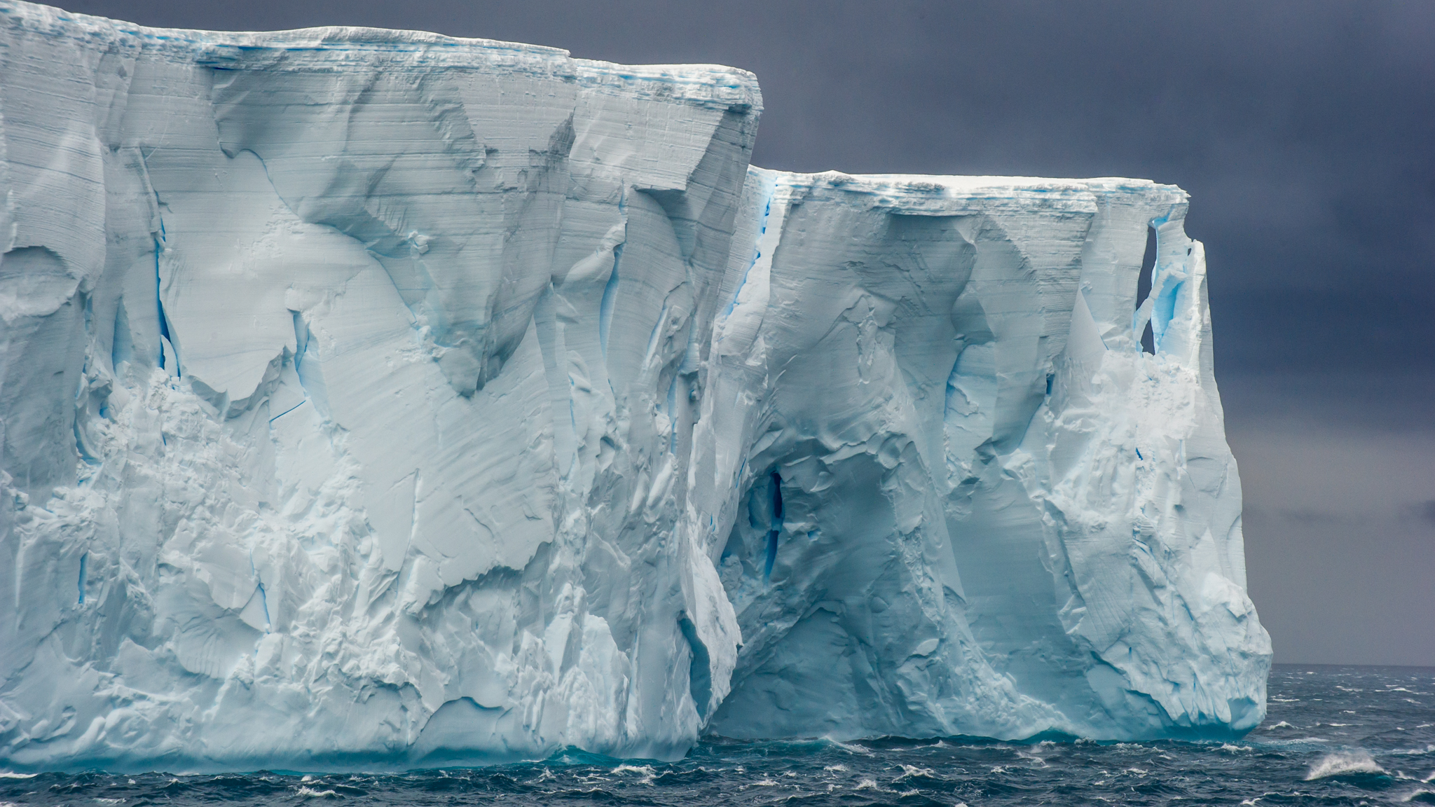 Tabular Iceberg in the Scotia Sea