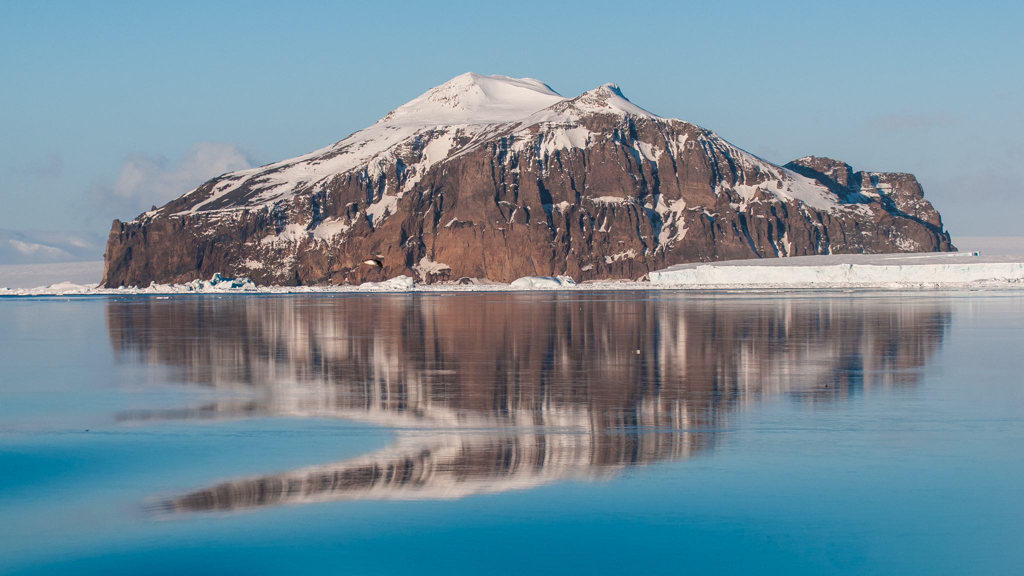 Rosamel  (Andersson) Island in  the Antarctic Sound