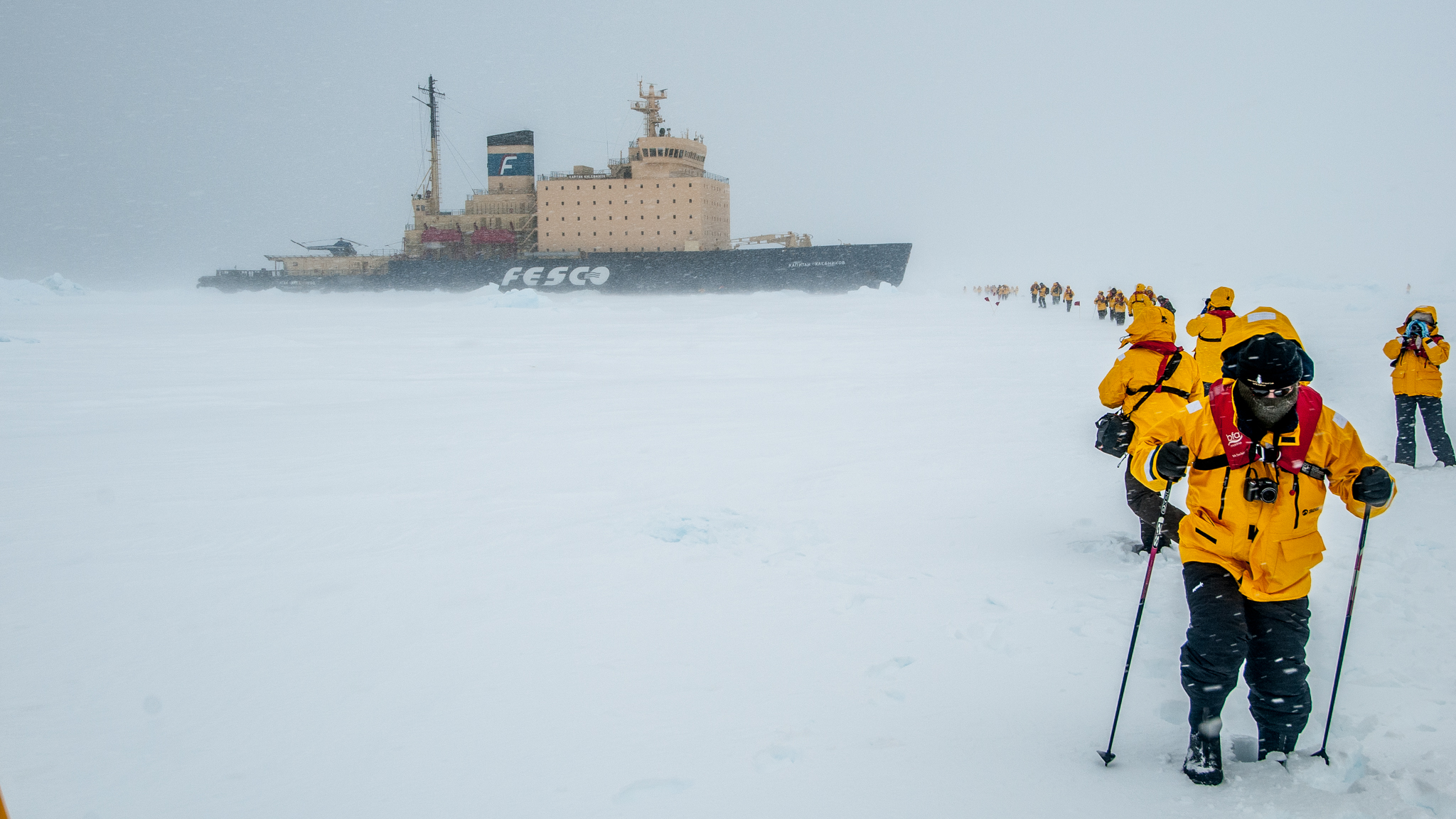 Excursion on the Weddell Sea