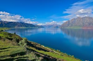 Lake Hawea, Otago, New Zealand