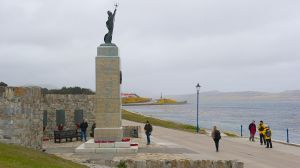 War memorial, Port Stanley, Falkland Isles